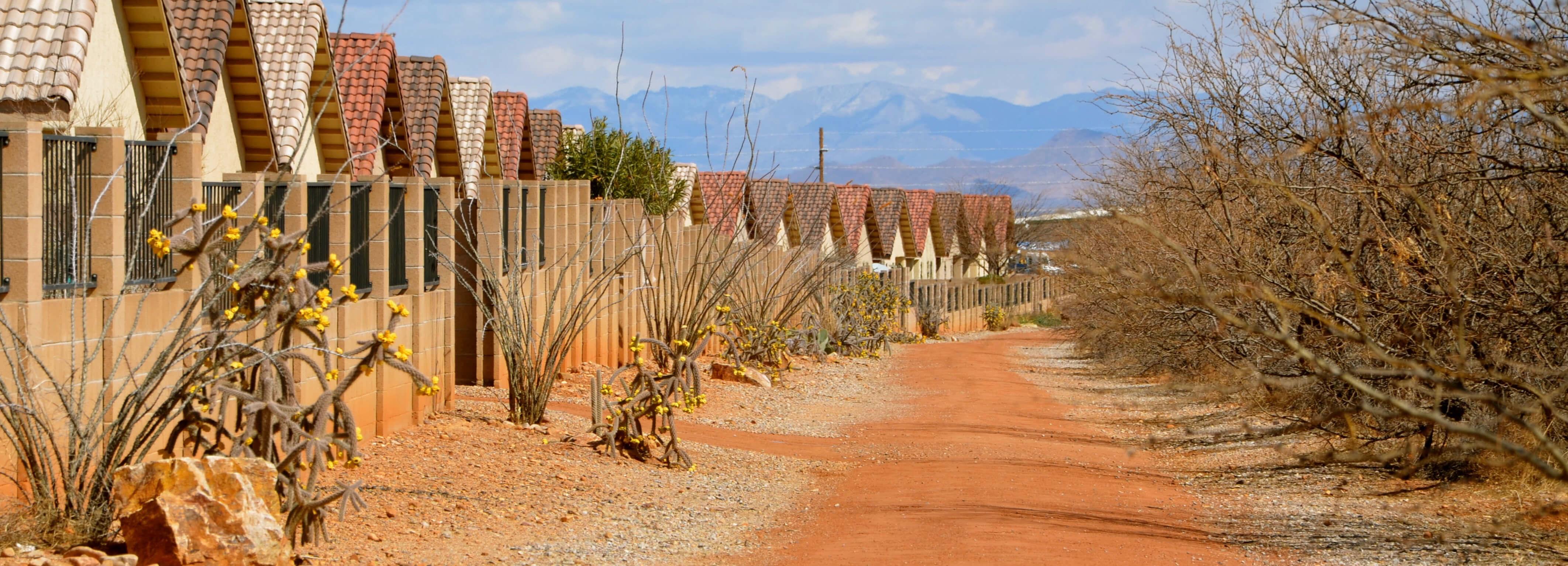 desert walk way